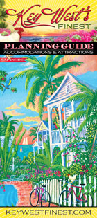 key west finest brochure, key west guide book