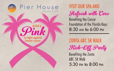 The Pier House Goes Pink Fundraiser on the Beach